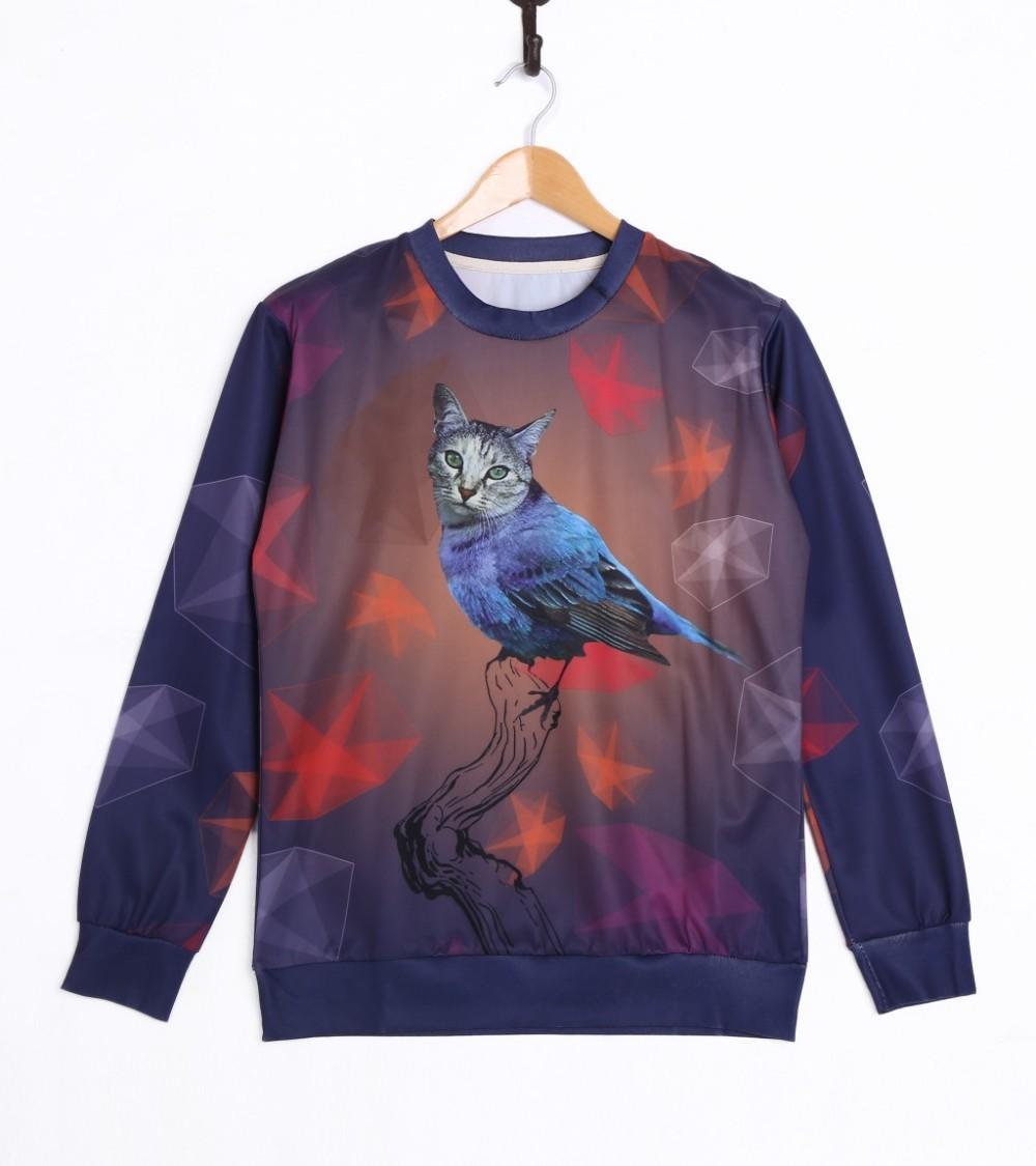 пуловер с кошкой купить