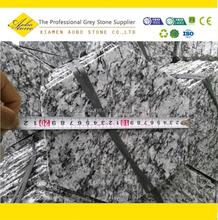Wasserwelle sechseck pflastersteine, weiße welle grauen granitpflaster fliese