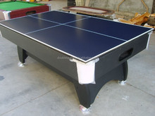 2 in 1 Multi Game Billiard table and table tennis table for hot selling