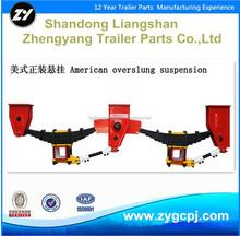 Trailer suspension New model American type underslung type suspension
