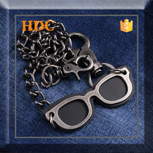 HDC new fashion 58 mm gun decorative chain with glasses use in jeans for man