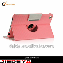 High quality pink rotate touch screen laptop cover