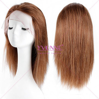 Wholesale natural straight human hair full lace wigs