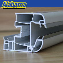 export to iraq manufacturer new design linear pvc extrusion profile