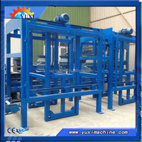 New Technology ! compressed Automatic sand cement hydraulic block machine in south africa
