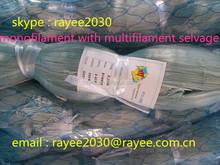 factory price grey color nylon monofilament fishing nets on sale 0.25mm, redes de pesca de monofilamento de nylon