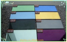 High quality 8mm color decoration glass mirror bathroom mirror glass furniture of silver mirror