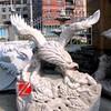granite eagle sculpture carving