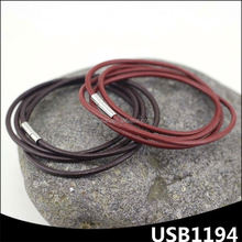 free samples customize multi-layers men colored magnetic bracelet