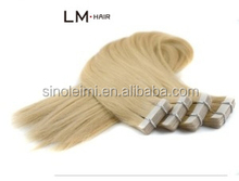 """Brazilian Hair Extensions Sticker Skin Weft 22"""" 100g/pack PU Tape Glue Skin Weft 100% Remy Human Hair Tape Hair Extension"""