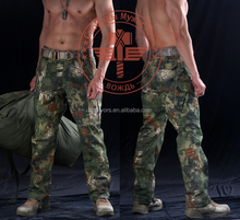 Tactical military style male fans the special combat trousers python lines camouflage breathable trousers