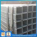 bs1387 de acero al carbono rectangular de densidad de carbono de tubos de acero