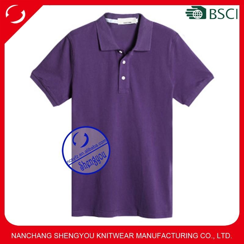 Custom Wholesale Cheap Plain Blank Polo Shirt For Men