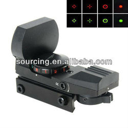 PRO 1x22x33 Multi Reticle Electro Red & Green Dot Sight