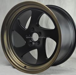 alloy wheel china 18 inch rim wheels 5x114.3 spoke wheels for car