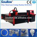 boa qualidade da fibra do laser de corte de metal máquina de corte de ferro
