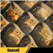 HDPE Geocell With Textured And Perforated Surface From China