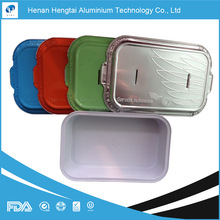zhengzhou airline aluminum foil food tray for food packing(FDA, SGS, HACCP, KOSHER certificate)