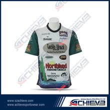 Newest arrival Men's Sublimation T-shirt 100% Ployester crop top