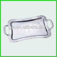 stainless steel serving tray rectangual catering tray