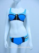 Dernières filles sexy maillots de bain bikini à armatures rembourré tasses écharpe. 1859
