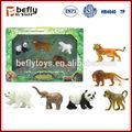 2014 juguete de plástico animal de la selva de alta calidad