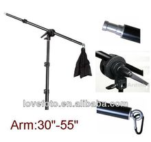 Photography Slope Arm Bar With Weight Balancer Bag Photo Studio Boom Arm