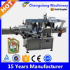 High speed automatic flat bottle labeler