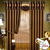 textile 3 pass blackout curtain fabric linen like polyester china window curtain 2015