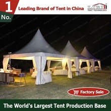 chinese outdoor decoration pagoda tent used for sale