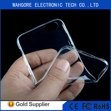 transparent TPU case For iphone 6 case clean silicon case for iphone case cheap ultra thin tpu case for iphone case