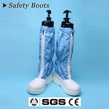 [JB]Anti-static hard high-leg pvc boots tall boots dust shoes protective boots coverall