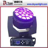 professional stage lighting 19*15W RGBW 4in1 zoom moving head light