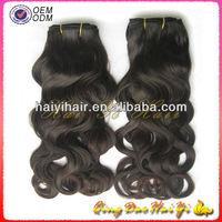 Most Popular New Arrvial 18 Inch Vietnam Virgin French Curl Hair Weaving