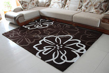 Drawing room and bedroom Polyster hand made floor carpet