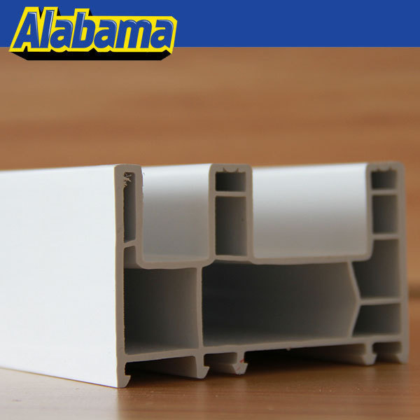 Pvc extruded profiles white upvc window sill board profile for Pvc window frame