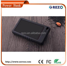 5000mah mini solar charger mobilephone, mini keychain solar charger