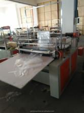 GFQ Series Computer Heat-sealing & Cold-cutting Single line Bag Rolling making Machine