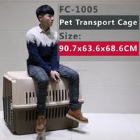 pet cage/carrier/ case/house , plenty ventilations to keep pet comfortable