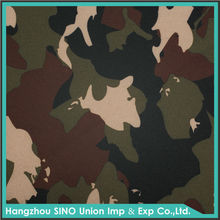 Outdoor camping 600D polyester PU coated waterproof tent fabric camouflage