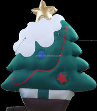inflatable christmas tree indoor