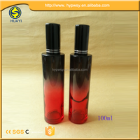 Good design 100ml colorful glass perfume bottle