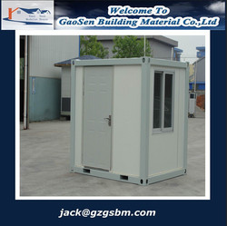Plastic steel frame house container made in China