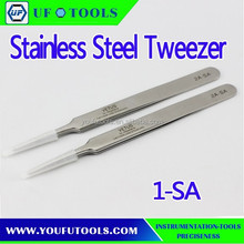 Manufacture High Precision Stainless Steel Tweezer ,Cheap Tweezer,High Quality Hand Tweezer