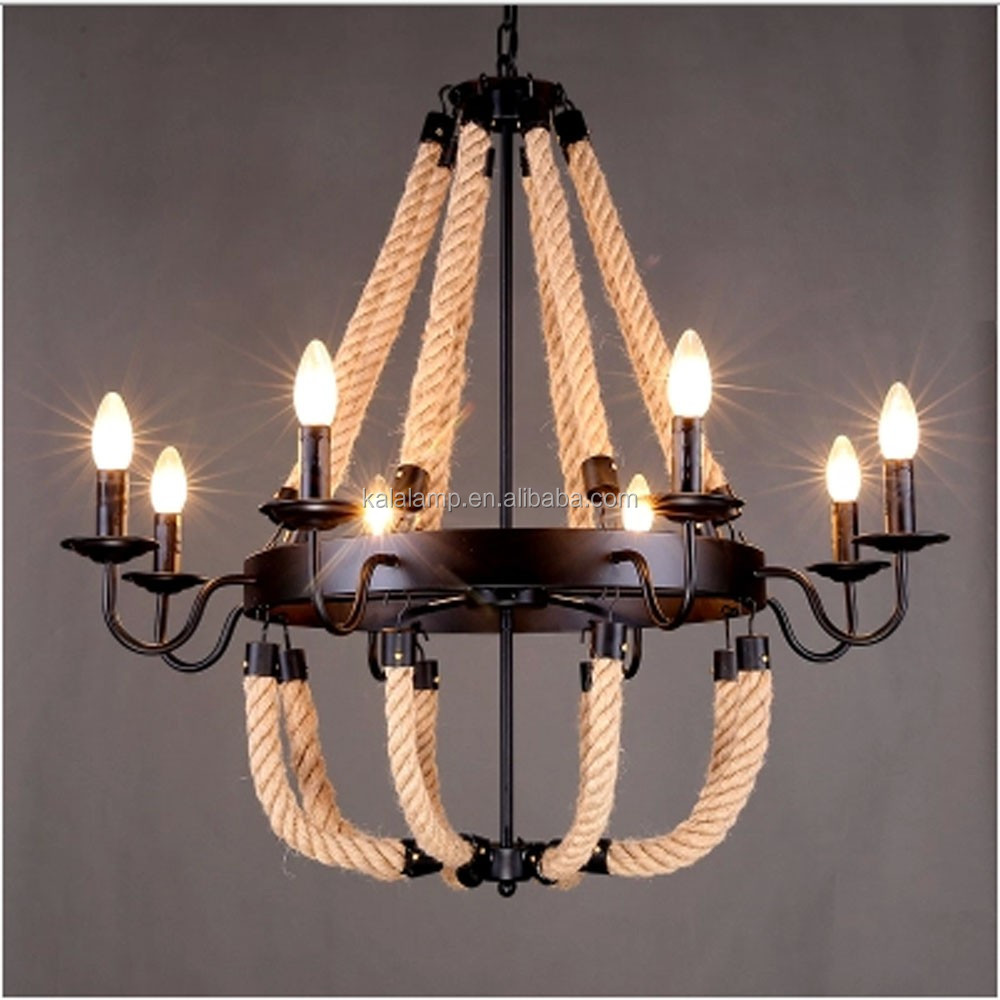 vintage rustique petit 3 5 8 lumi re lustre en bois loft industriel forg fer pendentif lampe. Black Bedroom Furniture Sets. Home Design Ideas