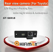 Hifimax Waterproof car camera for Toyota Land Cruiser Prado car rear view camera, car reverse rear view camera