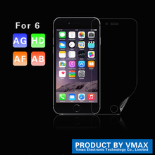 2015 New Model !! HD Clear Korea Material Cell Phone PET Screen Protector For iPhone 6