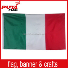custom screen printing 75D polyester promotion 3x5ft football country national flag wholesale for sports event