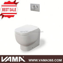 VAMA Wall Single Flush S-Trap Two Piece Toilet Toilet For Algeria