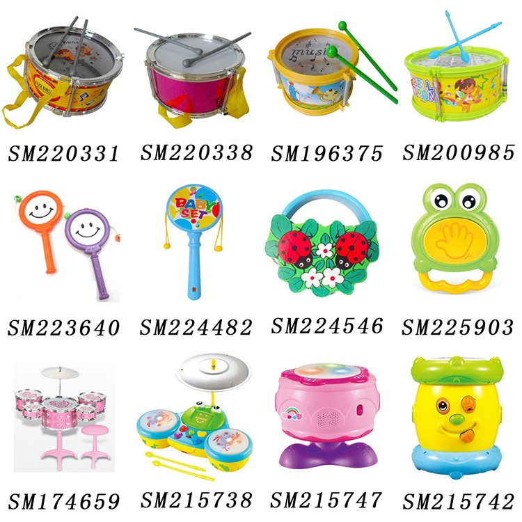 High quality kids musical plastic jazz drum set toy